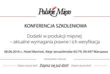Konferencja szkoleniowa dla branży mięsnej