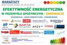 TechFood Practic zaprasza na warsztaty 18 – 19.X.2018 Hotel Zamek Gniew