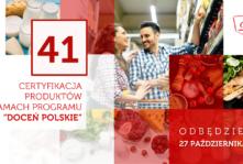 """Już wkrótce kolejna szansa na zdobycie certyfikatu """"Doceń polskie""""!"""